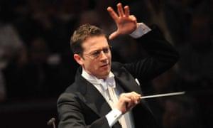 Energy and balance … conductor John Wilson.