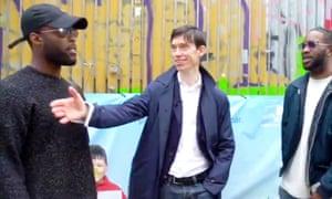 Still from Rory Stewart video