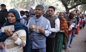 India's banknote ban: how Modi botched the policy yet kept