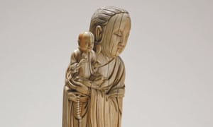 One of the ivory figures donated to the British Museum from the collection of Sir Victor Sassoon.