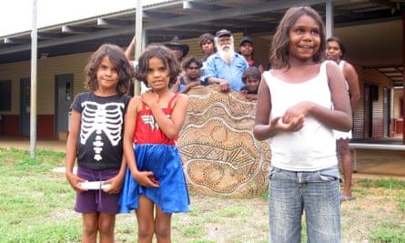 An Indigenous community