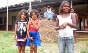 About 20 students attend Jarlmadangah Burru community school in Western Australia. Jarlmadangah, is one of the remote Indigenous communities in danger of closing.