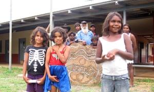 About 20 students attend Jarlmadangah Burru community school