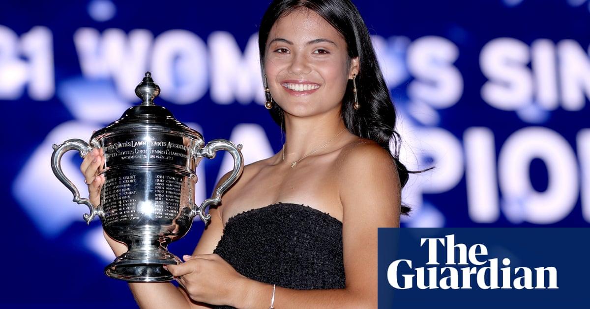 'I don't feel pressure': Emma Raducanu loving life after US Open triumph