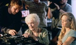 Bill Paxton in Titanic, 1997.