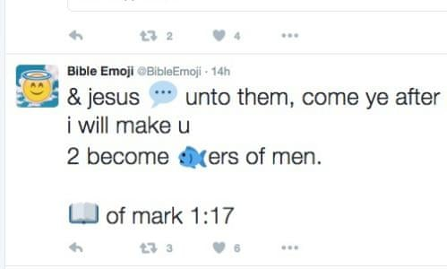 The Emoji Bible has arrived     sometime after God created