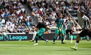 An unmarked Joselu heads home the equaliser.