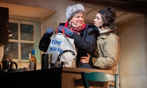 Caroline Harker and Lucy Doyle in The Croft.