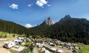 Camping Vidor, Trentino,