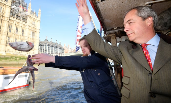 Hms Brexit Sticks It To The Man By Tossing Two Dead Fish Overboard