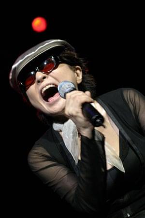 Yoko Ono at Meltdown festival 2005.