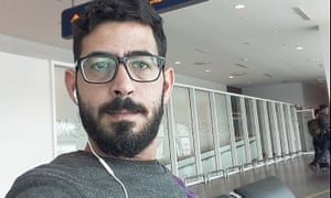 'Tomorrow, I will be reaching my final destination: Vancouver, Canada,' Hassan Al Kontar said in a video posted on Twitter.