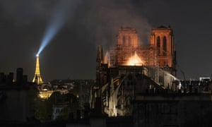 A devastating fire on 15 April this year badly damaged Notre Dame Cathedral and destroyed the spire.