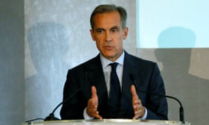 The governor of the Bank of England, Mark Carney, could raise rates on 2 November.