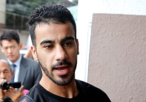 Bahraini soccer player with Australian refugee status Hakeem Al-Araibi is detained in Bangkok awaiting extradition proceedings started by Bahrain.
