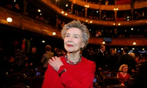 Emmanuelle Riva at the 38th Cesar Awards ceremony on 22 February  2013 at the Chatelet theatre in Paris