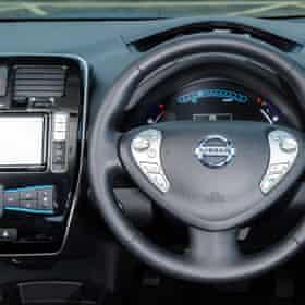 Nissan Leaf 30k Wh Tekna interior