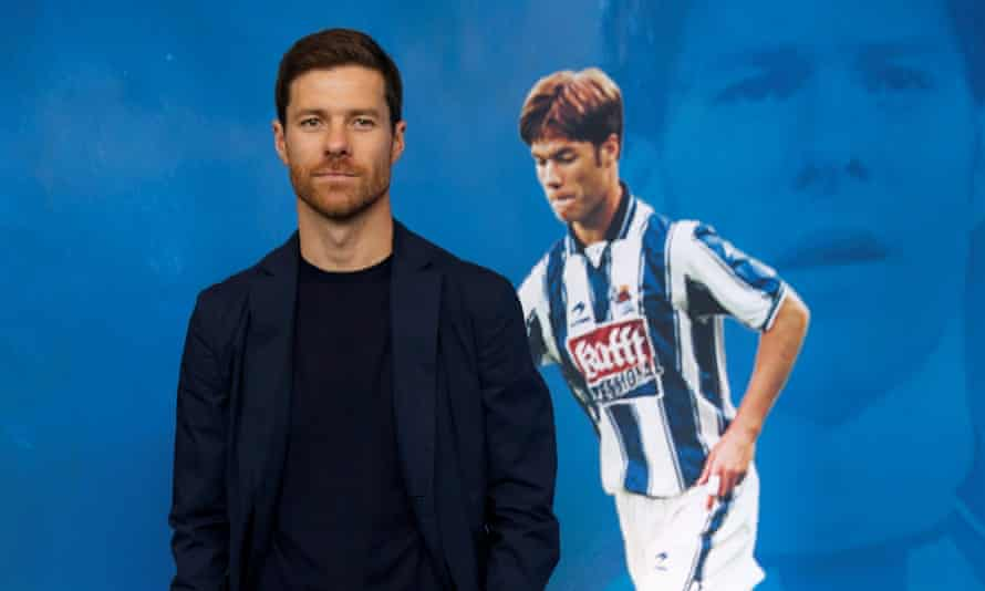 Xabi Alonso began his playing career at Real Sociedad and is now coaching their reserve team.