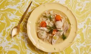 Owen Barratt's chicken soup.