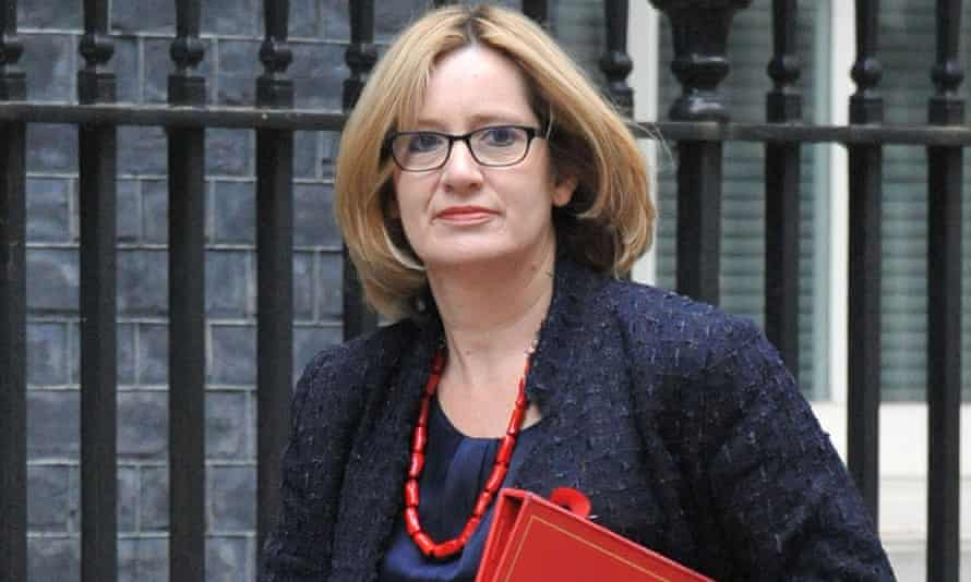 Amber Rudd, the energy and climate change secretary.