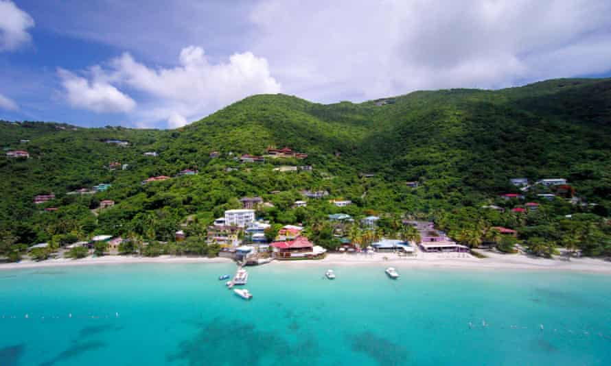 Tortola in the British Virgin Islands
