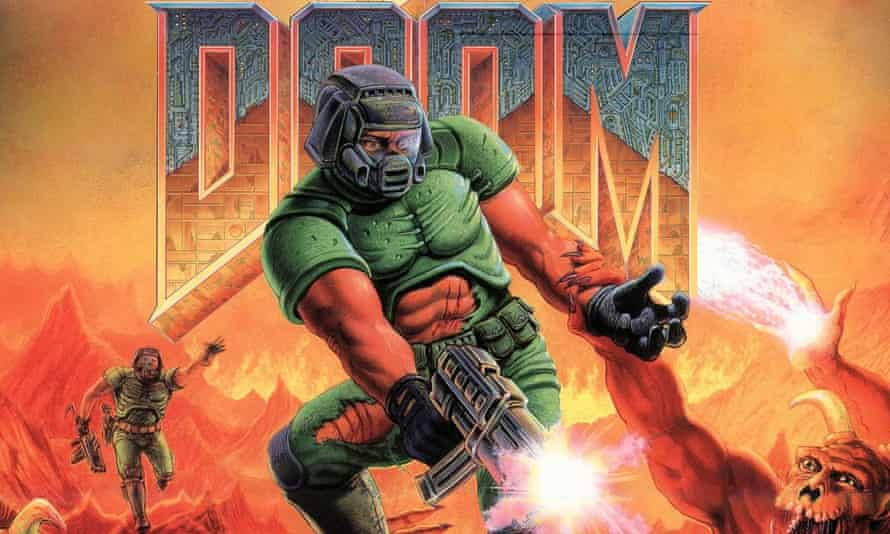 Sparing design ... the original Doom launched in 1993 with just eight guns