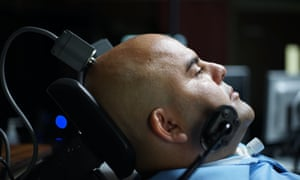 An experiment on controlling a bionic arm via brain-machine interface in The Immortalists.