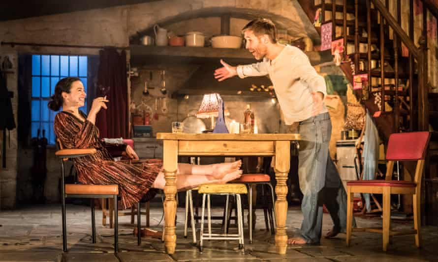 Laura Donnelly and Paddy Considine in Jez Butterworth's The Ferryman, one of 2017's most talked-about theatre productions.
