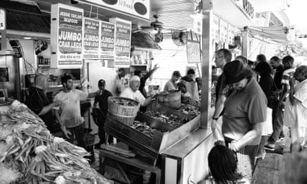 Maine Avenue Fish Market in Southwest Washington DC.