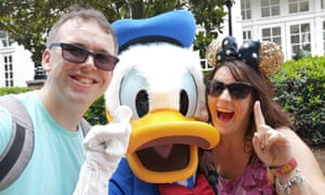 Working for Walt: InsidEARS Dave and Steph from Eastbourne, who post at @Krispysmore