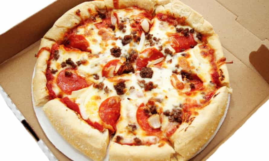 'Hello, are you looking for pizza?' – Derlin Newey's catchphrase – won him loyal customers who shared videos of him online with their followers.