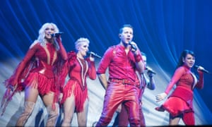 One more rodeo … Steps at Wembley Arena, London.