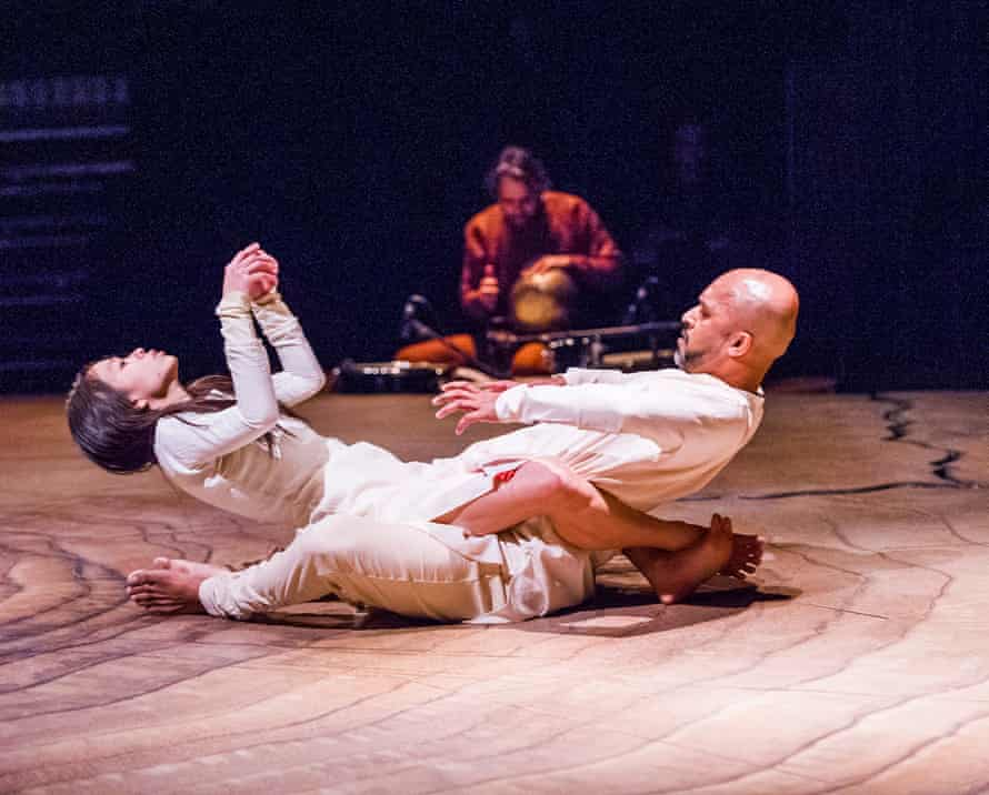 Ching-Ying Chien and Akram Khan in Until the Lions at the Roundhouse, London, in 2016.