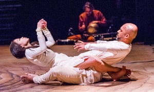 Shifting from male to female … Ching-Ying Chien and Akram Khan in Until the Lions.
