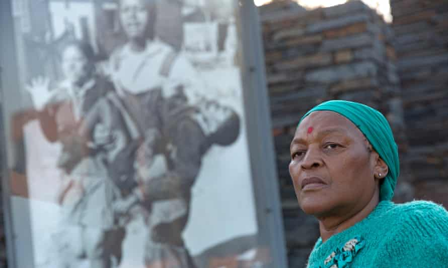 Ntsiki Makhubu, whose brother was photographed carrying the lifeless body of Hector Pieterson in 1976