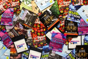 Legal highs, from Magic Crystals to Cotton Candy Carnage.