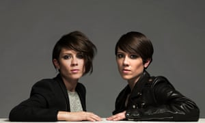 'LGBTQ people shouldn't be restricted' … Tegan and Sara.