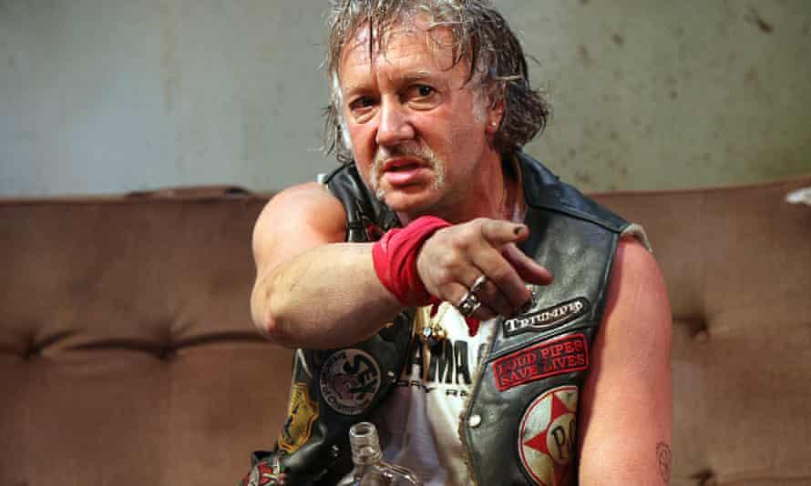 Pub raconteur … Jasper Britton as Johnny 'Rooster' Byron.