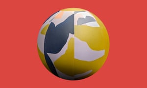 Swiss stability ball in Desert Edition