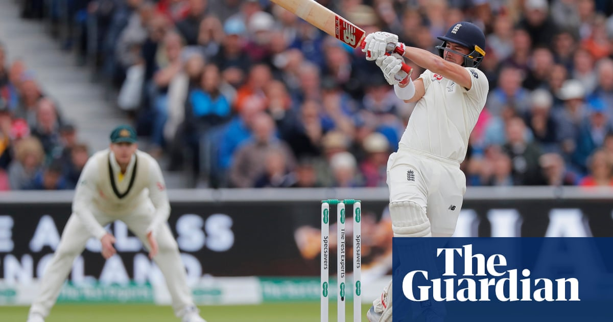 Rory Burns adds fluency to graft and looks part as England Test opener | Barney Ronay