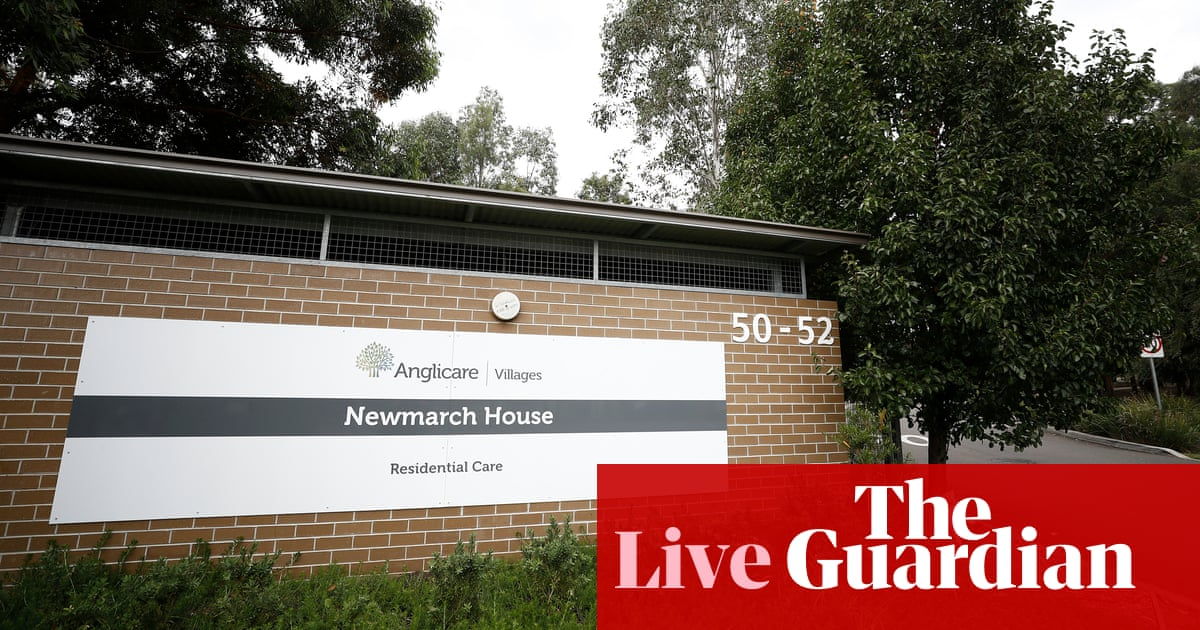 Coronavirus Australia live news: two more staff members at Newmarch House test positive – latest updates – The Guardian