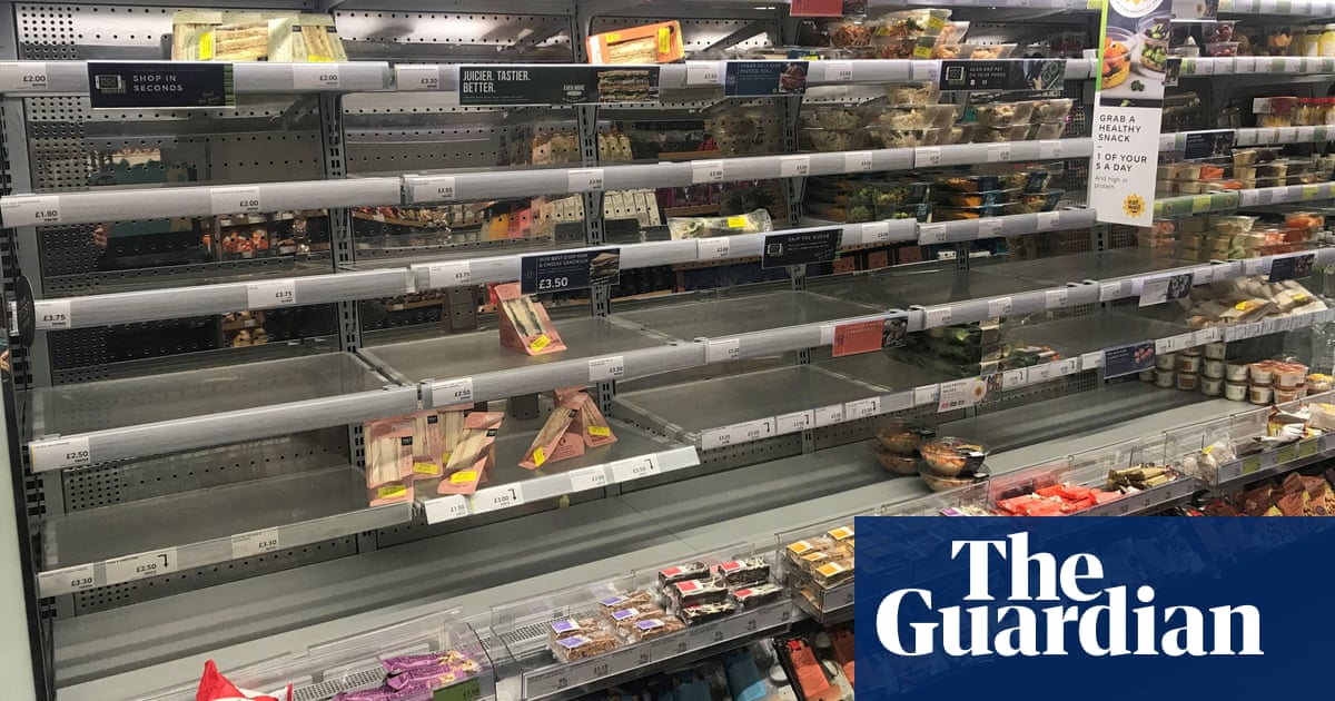 M&S chair: Brexit protocol will leave gaps on shelves in Northern Ireland