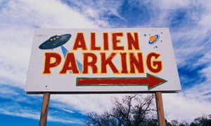A road sign near Roswell.