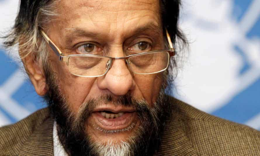 Rajendra Pachauri, above, denies allegations against him, saying they amounted to a conspiracy.