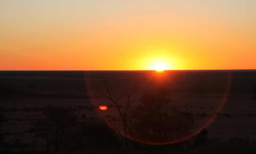 Pullen Pullen reserve, a 56,000ha reserve set up by Bush Heritage Australia to conserve the night parrot.