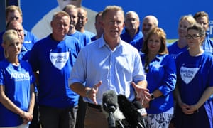 Tasmanian Premier Will Hodgman said he intended to govern alone 'or not at all' after the 3 March election.