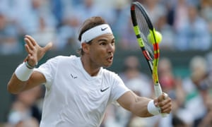 Rafael Nadal will face Roger Federer in the semi-final, with the winner likely to face Novak Djokovic in the final.