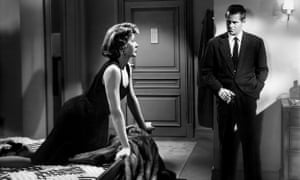 The single most shocking moment in Lang's career … Gloria Grahame and Glenn Ford in The Big Heat.