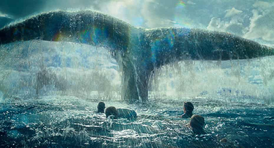 A scene from In the Heart of the Sea.