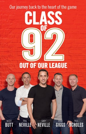 Class of 92: Out of our League book cover